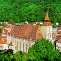 Black church brasov is a cathedral in braÈ™ov a city in south eastern transylvania romania it was built by the german community of Stock Photos
