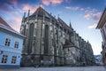 Black Church in Brasov City Romania Royalty Free Stock Photo