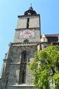 Black church brasov romania the tower of the in in transylvania Stock Image
