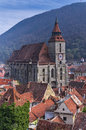 Black Church in Brasov, Romania Royalty Free Stock Photo