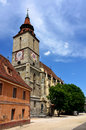 Black Church in Brasov, Transylvania, Romania Royalty Free Stock Images