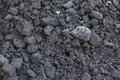 Black coal closeup Royalty Free Stock Photo