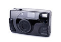 Black compact film camera Royalty Free Stock Photo