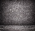 Black cracked concrete wall texture with sidewalk Royalty Free Stock Photo