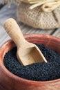 Black cumin seed Royalty Free Stock Photo