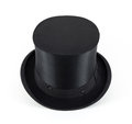 Black cylinder hat Royalty Free Stock Photo