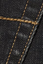 Black denim with seams Royalty Free Stock Photo