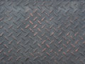 Black diamond steel  plate Royalty Free Stock Photo