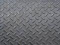 Black diamond steel  plate Royalty Free Stock Photo