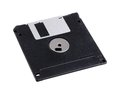 Black diskette Stock Photography