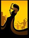 Negro bailar