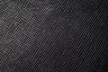 Black dot texture background from lather wallet. Royalty Free Stock Photo