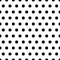 Black Dots Background Royalty Free Stock Photo