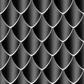 Black Dragon skin texture Royalty Free Stock Photography