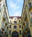 Black Eagle Hotel in Oradea, Romania Royalty Free Stock Photos