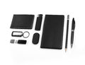 Black Elements of corporate identity, set of office stationery