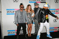 Black eyed peas black eyed peas at the american music awards press room nokia theater los angeles ca Royalty Free Stock Image
