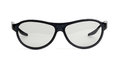 Black eyeglasses isolated on white Stock Photography