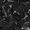 Black facet background Stock Image