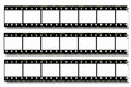 Black Film strip Royalty Free Stock Images