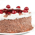 Black forest cake Royalty Free Stock Images