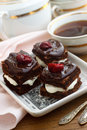 Black forest cake Royalty Free Stock Image