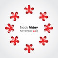 Black friday background Royalty Free Stock Photography