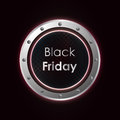 Black friday background Stock Image