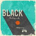 Black friday calligraphic designs vintage style Stock Photography