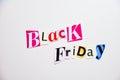 Black friday cartoon box