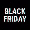 Black Friday Glitch Text. Anag...