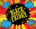 Black friday label color abstract Royalty Free Stock Photos