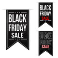 Black friday sale banner design set