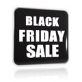 Black friday sale black banner button d with white text business holiday concept Royalty Free Stock Image