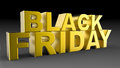 Black Friday Sale 3D Illustration