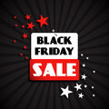 Black friday sale design and a board Stock Photography