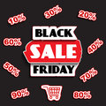 Black friday sale design this is file of eps format Royalty Free Stock Photo
