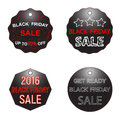 Black Friday sale sign, logos and labels collection set