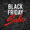 Black friday sale vector illustration banner