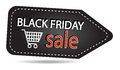 Black friday sales tag Royalty Free Stock Photo