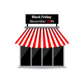 Black friday shop icon with special design Royalty Free Stock Photos