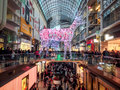 Black friday toronto november shoppers visit the mall in toronto canada on the november Stock Photos