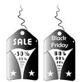 Black friday two and white symbols for Stock Photo