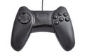 Black gamepad Stock Image