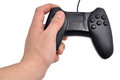 Black gamepad Stock Images