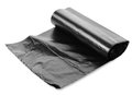 Black garbage bag Stock Photos
