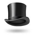 Black gentleman hat Stock Photo
