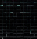 Black glass cubes wall background Royalty Free Stock Image