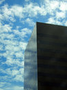 Black glass skyscraper Stock Photography