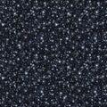 Black Glitter Texture, Seamless Sequins Pattern